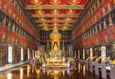 TH01513 Thailand, Bangkok, National Museum of Bangkok, Buddhaisawan Chapel, Phra Buddha Sihing