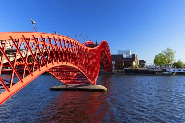 NLD0870AW Python Bridge, Zeeburg, Amsterdam, Noord Holland, Netherlands