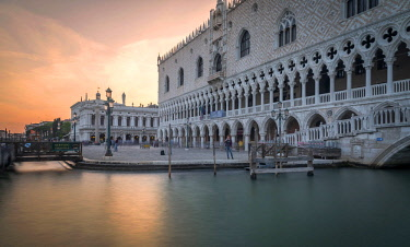 CLKFR89070 Ducal Palace of Venice, Venice district, Veneto, Italy