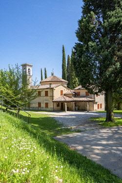 CLKMK88897 Possagno, Treviso province, Veneto, Italy The church San Rocco