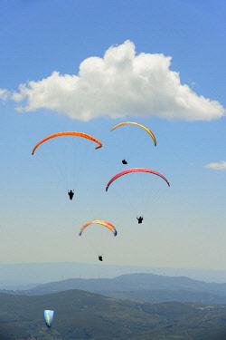 POR9829AW National Paragliding Championship, Larouco Mountain, Montalegre. Tras os Montes, Portugal