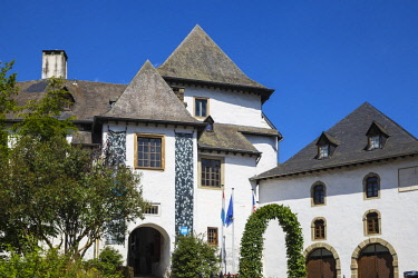 LX01076 Luxembourg, Clervaux,  Clervaux Castle