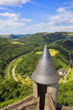 LX01105 Luxembourg, Bourscheid , Bourscheid Castle