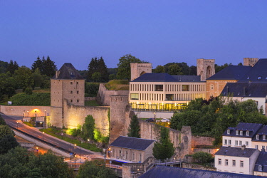 LX01167 Luxembourg, Luxembourg City, Rham Plateau