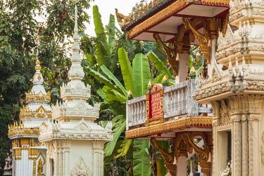 LS02122 Laos, Vientiane, Wat Si Saket, Vientiane's oldest temple