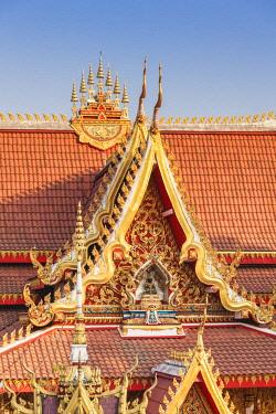 LS02131 Laos, Vientiane, Wat Chanthabuli, detail