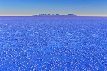 BV001RF Uyuni salt flat, Salar de Uyuni, near Tahua, Potosi department, Bolivia