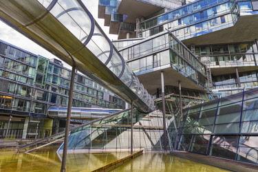 DE07261 Headquarters building of Norddeutsche Landesbank (2002), Hanover, Lower Saxony, Germany