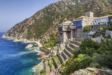 GR06579 Dionysiou monastery, Mount Athos, Athos peninsula, Greece