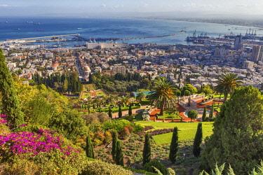 IS30266 Baha'I Gardens, Haifa, Israel