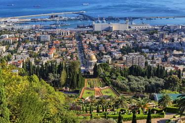 IS30267 Baha'I Gardens, Haifa, Israel