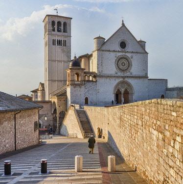 IT09362 Papal Basilica of Saint Francis of Assisi, Basilica Papale di San Francesco, Assisi, Perugia, Umbria, Italy