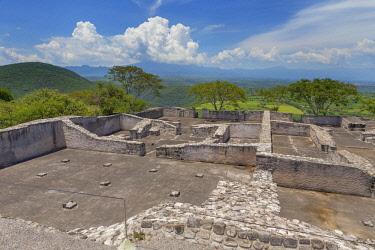 MX03609 Ruins of Xochicalco, Morelos state, Mexico