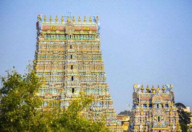 IBXSET04383000 Sri Meenakshi Sundareshwarar temple, Madurai, Tamil Nadu, South India, India, Asia