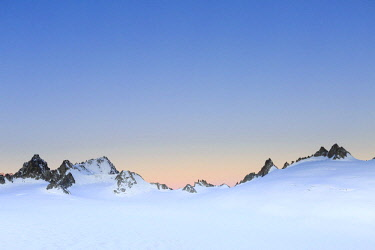 IBXMAC04047656 Plateau du Trient with T�te Blanche and Petite Fourche, Mont Blanc massif, Alps, Canton of Valais, Switzerland, Europe