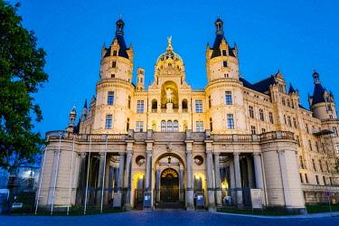 IBXOHA04375858 Schwerin Castle, Mecklenburg-Western Pomerania, Germany, Europe