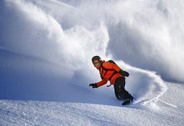 IBLVCH03862619 Snowboarder, freerider, S�lden, Tyrol, Austria, Europe
