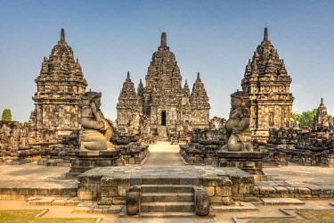 IDA0856AWRF Candi Sewu, Prambanan temple complex, Yogyakarta, Java, Indonesia