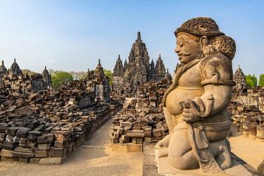 IDA0792AW Candi Sewu, Prambanan temple complex, Yogyakarta, Java, Indonesia