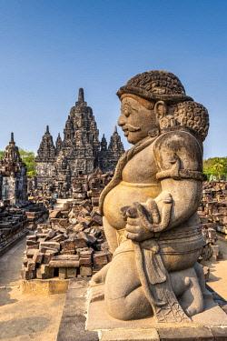 IDA0793AW Candi Sewu, Prambanan temple complex, Yogyakarta, Java, Indonesia