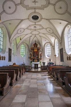 IBLABC04371262 Lorettokapelle or Loretto Chapel, Gasteig, Munich, Bavaria, Germany, Europe
