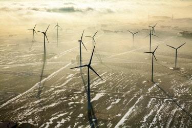 IBLBLO04088424 Wind farm in Madfeld, Brilon, Sauerland, North Rhine-Westphalia, Germany, Europe