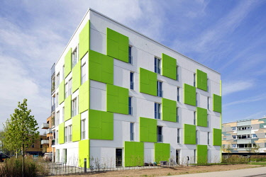 IBLRBB04062026 Residential building Smart is green, International Building Exhibition Hamburg, Inselpark, Wilhelmsburg, Hamburg, Germany, Europe