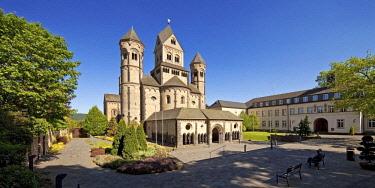 IBLSZI04716491 Maria Laach Abbey, Glees, Eifel, Rhineland-Palatinate, Germany, Europe