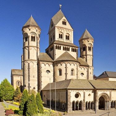 IBLSZI04716493 Maria Laach Abbey, Glees, Eifel, Rhineland-Palatinate, Germany, Europe