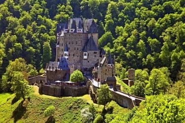 IBLSZI04723310 Eltz Castle, Wierschem, Eifel, Rhineland-Palatinate, Germany, Europe