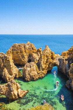 POR9936AWRF Portugal, Algarve, Faro district, Lagos, Ponta Da Piedade.