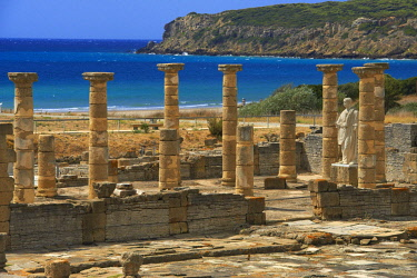 IBLJMC04069016 Baelo Claudia, ancient Roman town, archaeological site, Bolonia, Costa de la Luz, Cadiz, Andalusia, Spain, Europe