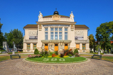 AUT0901AW City theater, Klagenfurt, Carinthia, Austria