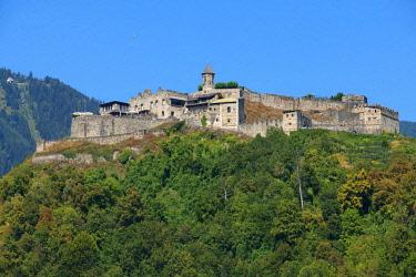 AUT0915AW Landskron castle, Villach, Carinthia, Austria