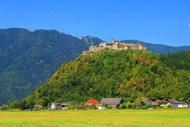 AUT0933AWRF Landskron castle, Villach, Carinthia, Austria