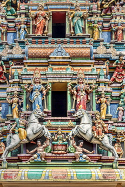 MAY0258AWRF Sri Mahamariamman Temple, Kuala Lumpur, Malaysia