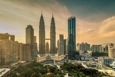 MAY0222AW City skyline, Kuala Lumpur, Malaysia