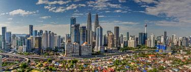 MAY0232AW City skyline, Kuala Lumpur, Malaysia