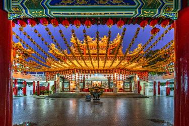 MAY0243AW Thean Hou Temple, Kuala Lumpur, Malaysia