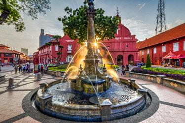 MAY0251AW Dutch Square, Christ Church, Malacca City, Malaysia