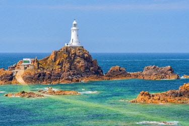 UK05160 United Kingdom, Channel Islands, Jersey, Corbiere Lighthouse