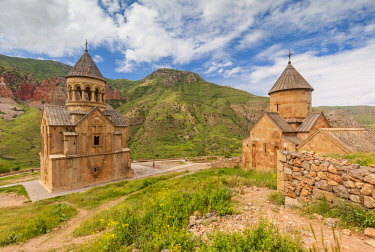 AM033RF Armenia, Noravank, Noravank Monastery, 12th century,  morning