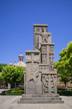 AM01267 Armenia, Vagharshapat-Echmiadzin, Mother See of Holy Echmiadzin, main complex of the Armenian Apostolic Church, religious monument