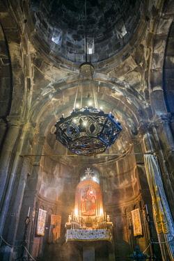 AM01333 Armenia, Geghard, Geghard Monastery, Surp Astvatsatsin Church, 13th century