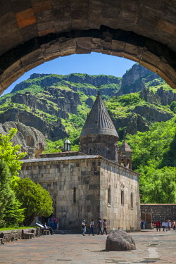AM01347 Armenia, Geghard, Geghard Monastery, Surp Astvatsatsin Church, 13th century