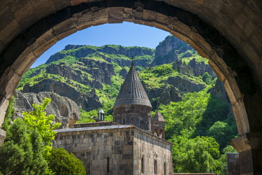 AM01348 Armenia, Geghard, Geghard Monastery, Surp Astvatsatsin Church, 13th century
