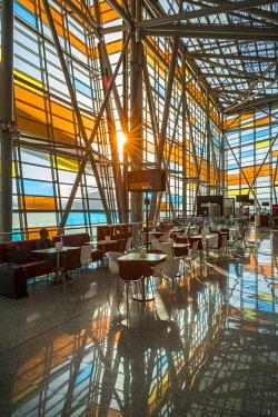 AM01354 Armenia, Yerevan, Yerevan Zvarnots Airport, EVN, terminal interior