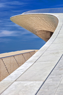 POR9948 The MAAT (Museum of Art, Architecture and Technology), on the Tagus River, designed by  Amanda Levete Architects, Lisbon, Lisboa, Portugal.