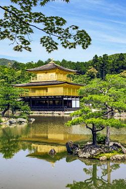 AS15MGL0122 Kyoto, Japan. Kinkaku-Ji, Temple of the Golden Pavilion, also known as Rokuon-Ji