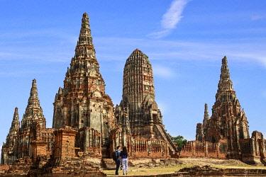 AS36MGL0041 Ayutthaya, Thailand. The temples of Wat Phra Mahathat